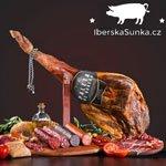 2× SET: 4 – 4,5 kg Paleta de Bodega (šunka z plece) + Gourmet stojan na šunku + nůž a ocilka v hodnotě 1.799 Kč